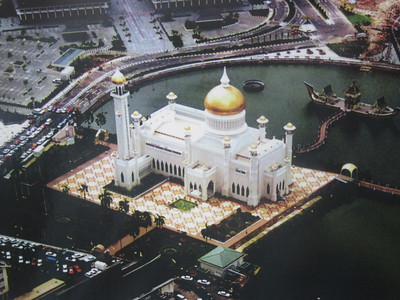007_Bandar Seri Begawan  The Omar Ali Saifuddien Mosque  Completed in 1958