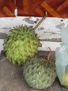 011_Nabalu Village  Town Market  Wild Duriant