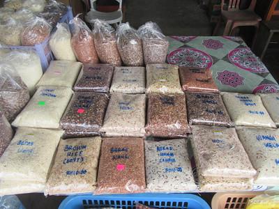 012_Pekan Nabalu  Town Market  Various rices