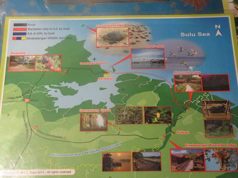 076_Sandakan to Sukau  The Lower Kinabutangan River Sanctuary