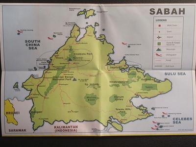 043_Sandakan  Map