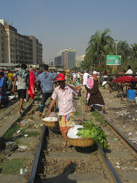 035_Dhaka  Rail Tracks Activities