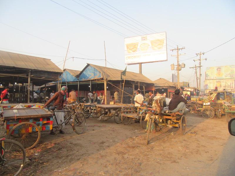008_Dhaka  Roadside Activities at 6AM