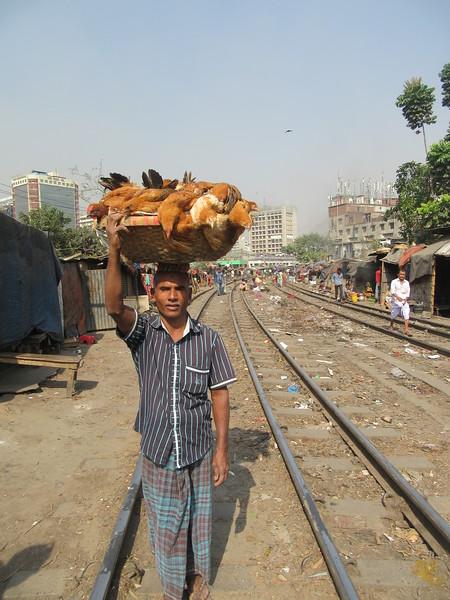 037_Dhaka  Rail Tracks Activities
