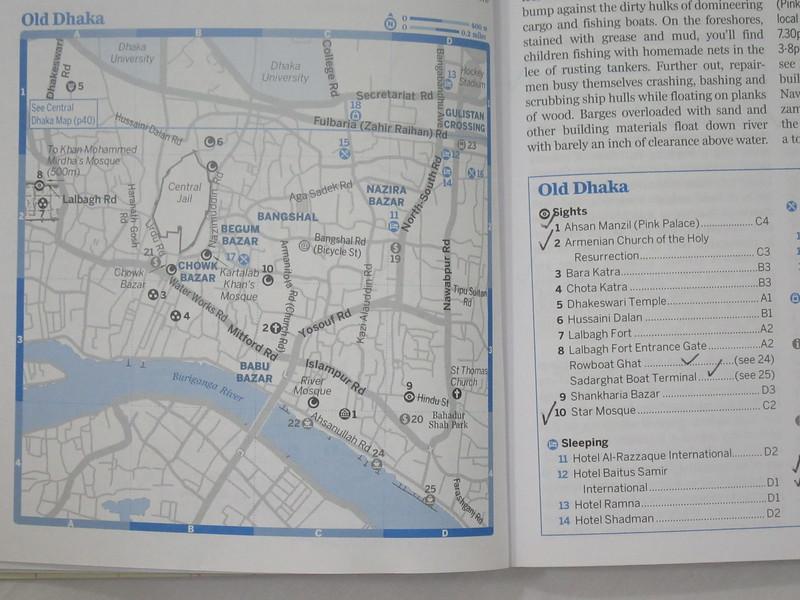 021_Old Dhaka  Map