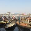 101_Dhaka  Keranigonj Ship Yards  Repairing Ships  Water is Thick Black Color  Smells Awfull