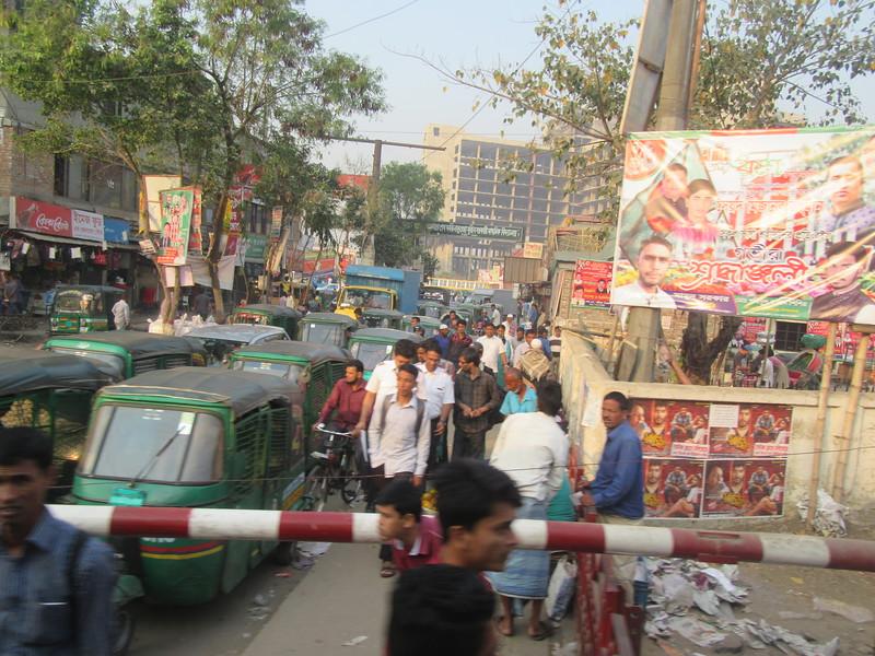 030_Dhaka  Traffic Jam