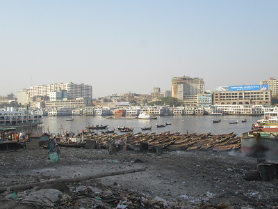 092_Dhaka  Sadarghat Steamer Port  Buriganga Riverfront