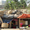 056_Dhaka  Rail Tracks Activities  Slums  Rudimentary Habitations  No Water, No Sewage, No Electricity  250,000 people +