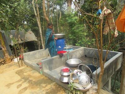 520_Srimangal  Lawachara National Park  Tropical Rainforest  Khashia Ethnic-Tribe Community