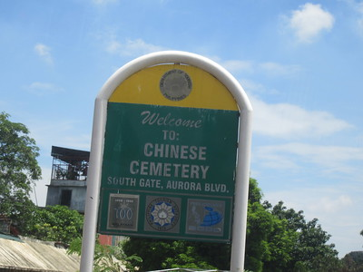 021_Chinese Cemetery  Unique, where mausoleums are as big and as elaborate as houses