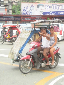 011_Manila  Transportation Means  Motorbyke  Part 3 of 4
