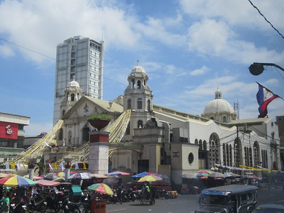014_Manila's Central District  Quiapo Church  The Pilgrimage Church of the Black Nazarene