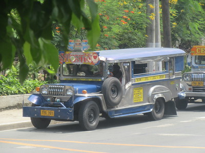 009_Manila  Transportation Means  Jeepney-Bus  Originally made from old Jeeps  Part 1 of 4