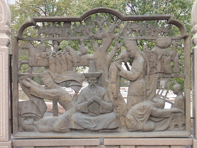22_Almaty  Bas-relief walls depicting scenes from Kazakhstan s history
