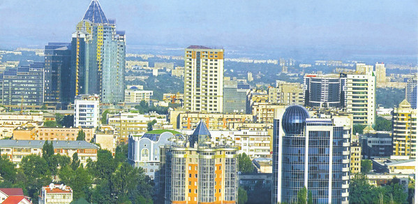 09_Almaty, A modern and booming city