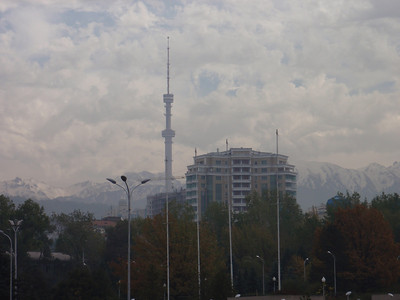 14_Almaty  Kok-Tobe (Green Hill) and 372m-high Telecommunications Tower