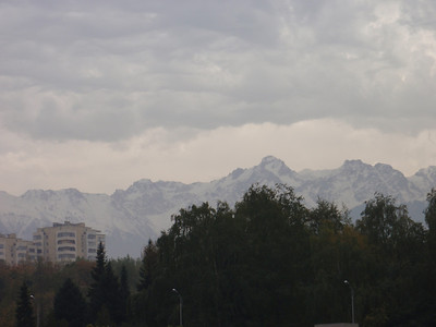 13_Almaty, at the foothill of the snowcapped Zaili Alatau Mountains