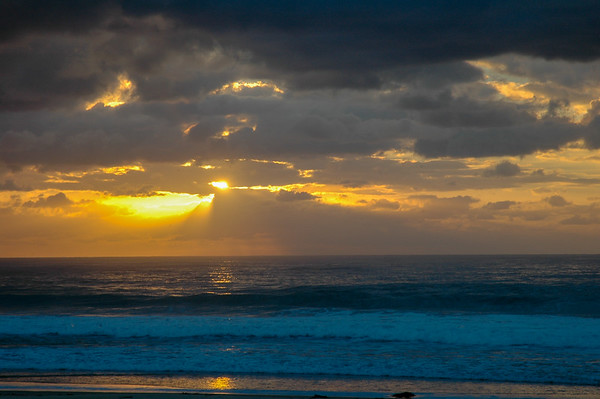Tasman Sea sunrise
