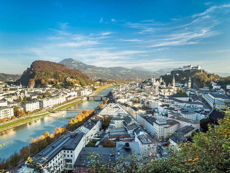 Salzburg Panorama, Austria