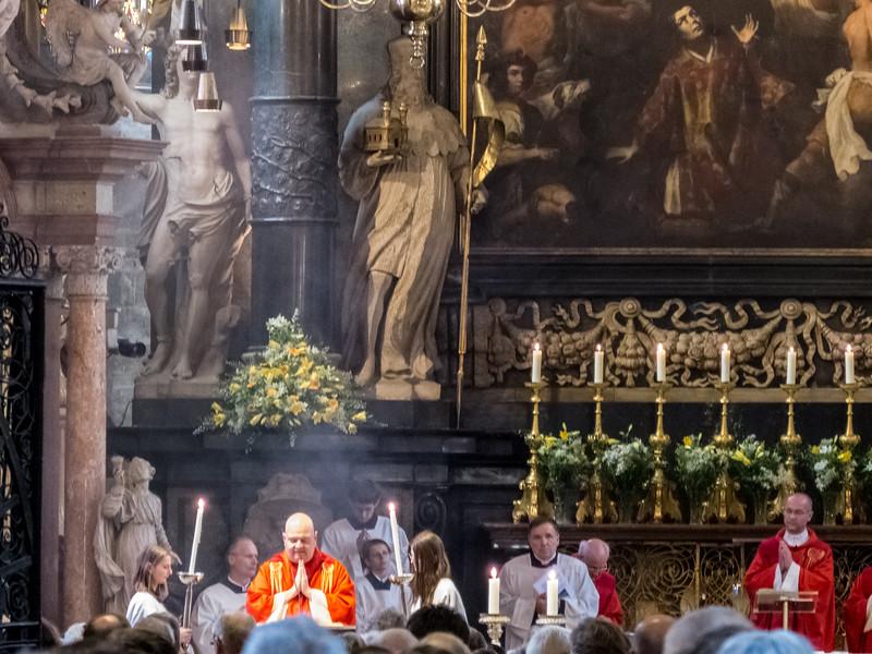 Messe, Stephansdom, Vienna, Austria