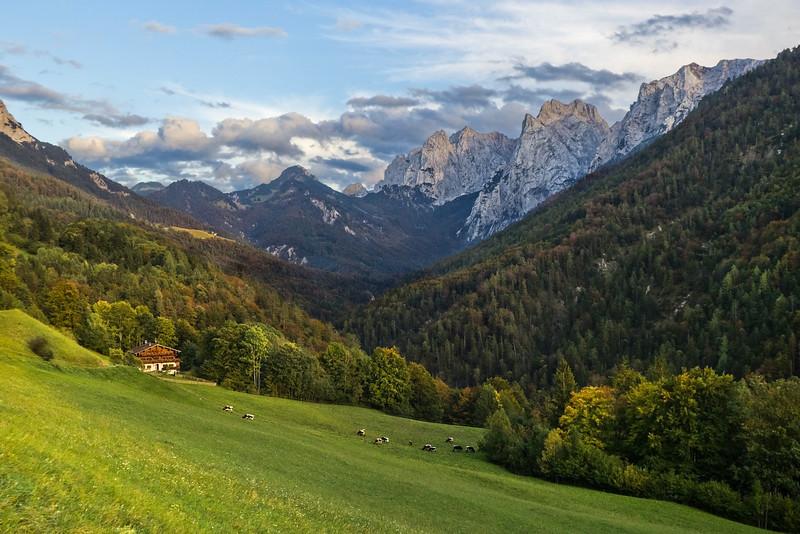 Evening Light on Kaisertal, Austria