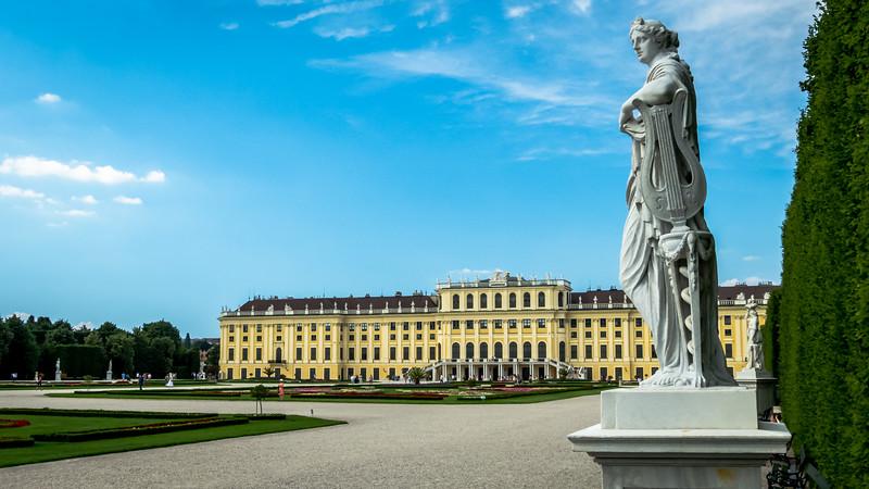 Palace Muse, Schönbrunn, Vienna, Austria