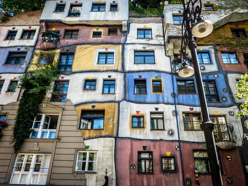 Windows Vista, Hundertwasser Haus, Vienna, Austria