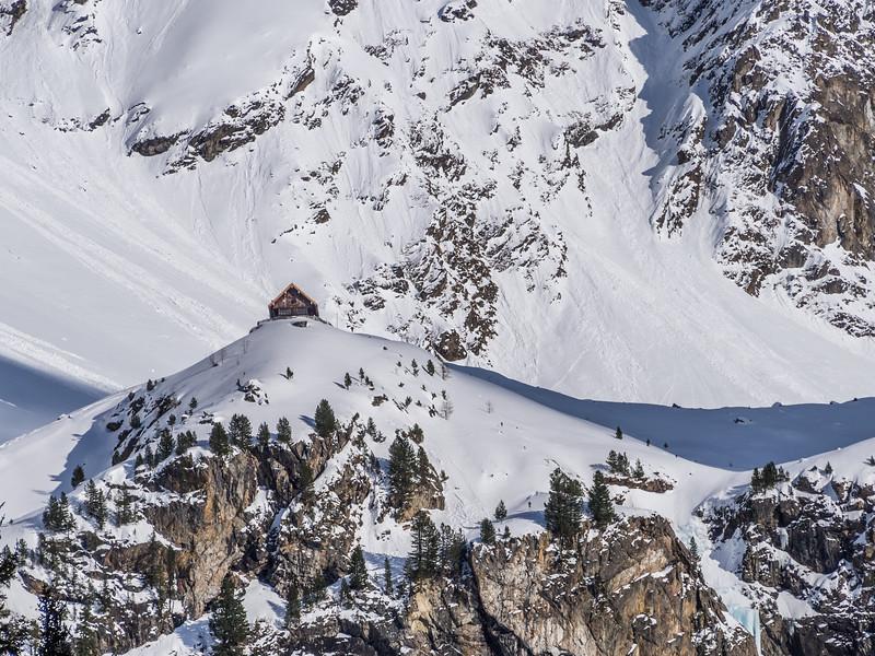 Winter Hut in Oberinntal, Austria
