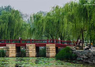 Relaxing at The Summer Palace