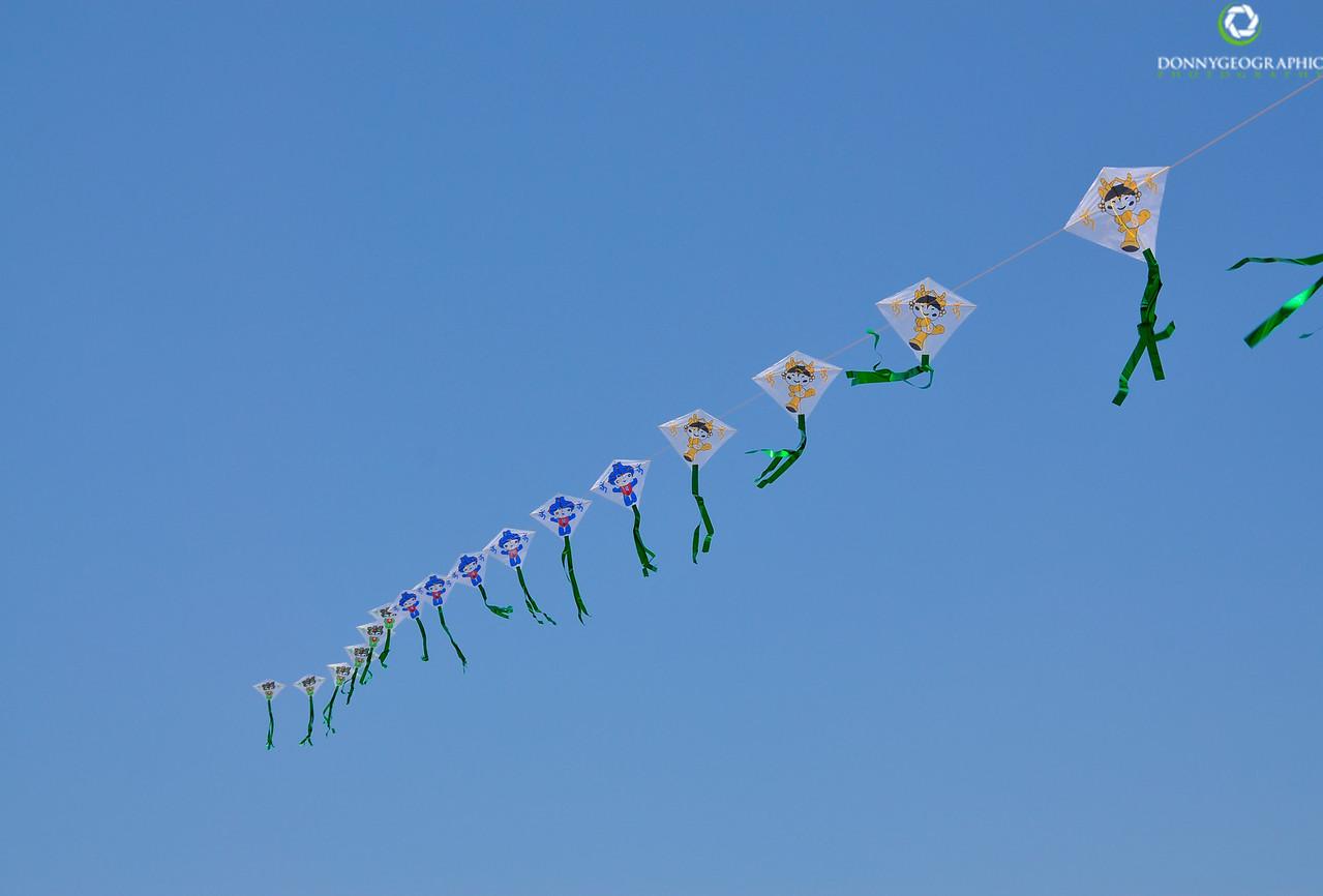 Flags over Beijing