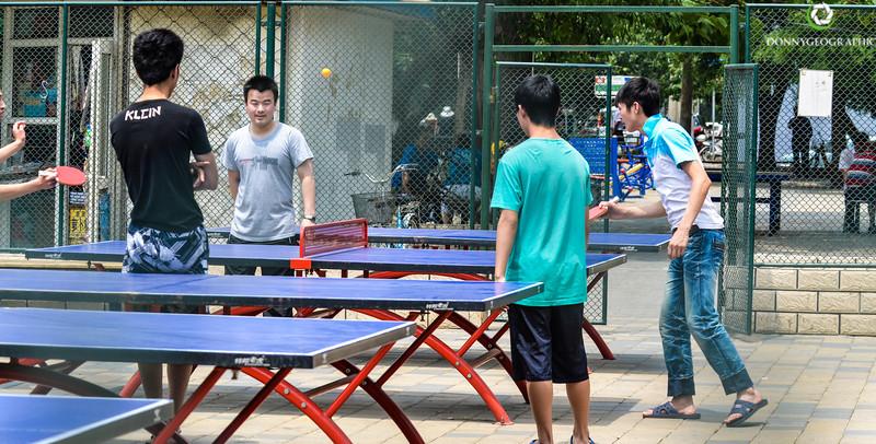 Ping Pong in Beijing