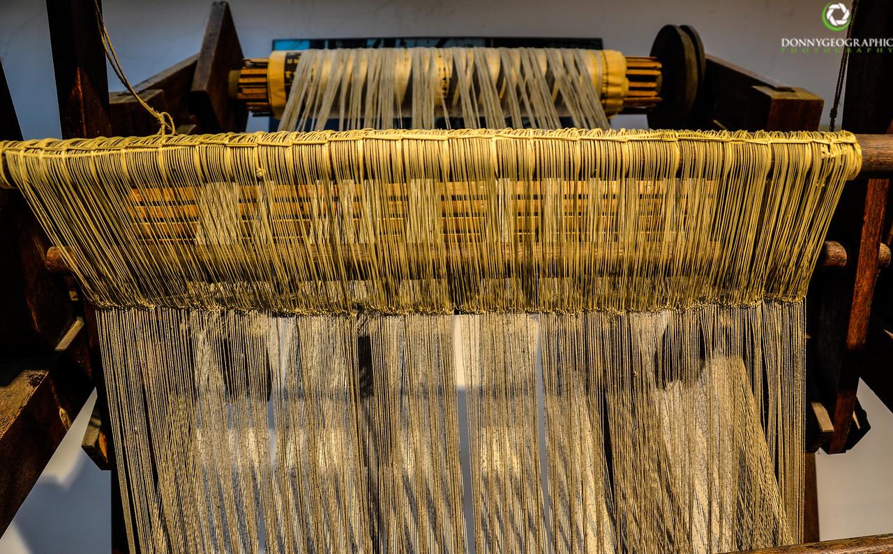 Old Silk Machine