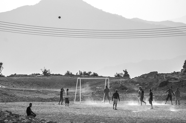 soccer at the mountains