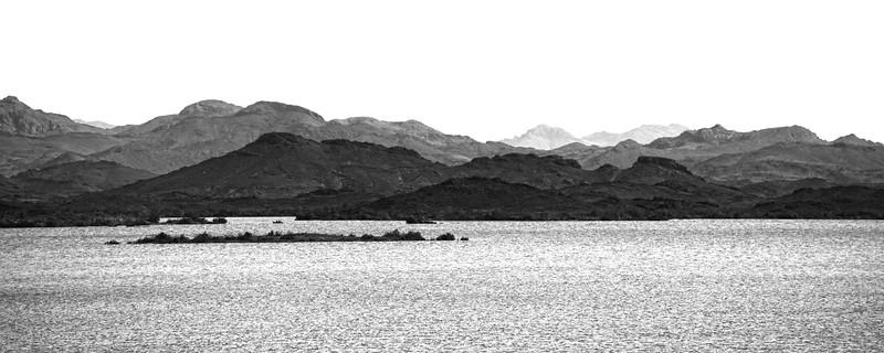 View from Aswan High Dam