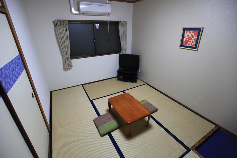 Japanese-style hotel room, K's House, Hiroshima...
