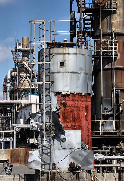 Nippon paper factory, Ishinomaki