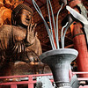 Todai-ji Daibutsu-den. 437 tonne bronze Buddha