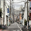 Typicial residential side-street, Minami-Senjyu