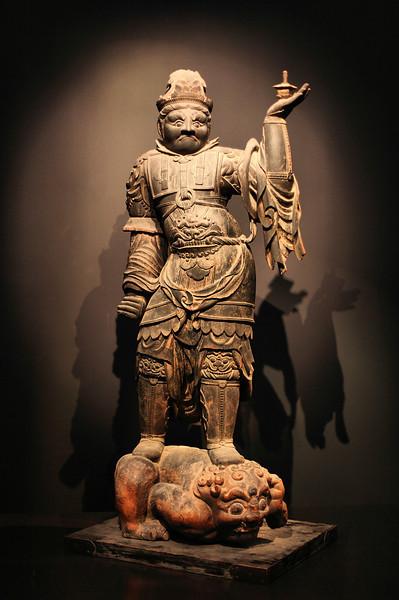 13th century statue, Tokyo National Museum, Ueno Park.