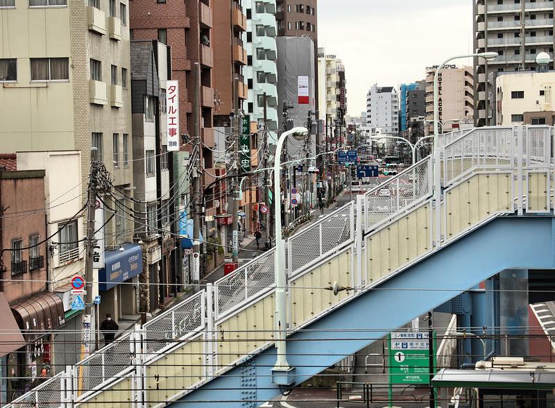 Minami-Senjyu, near my hotel