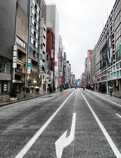 Ginza shopping street