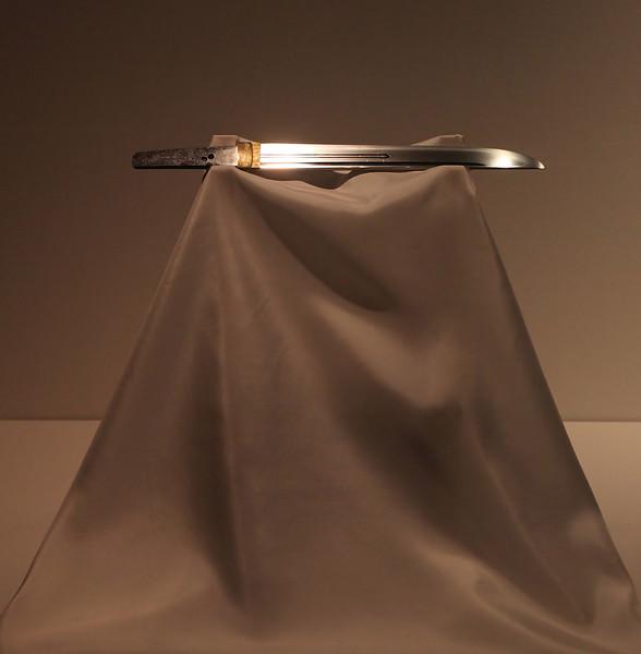 11th century sword, Tokyo National Museum, Ueno Park.