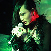 Bartender & singer at the Decadence Bar, Shinjuku