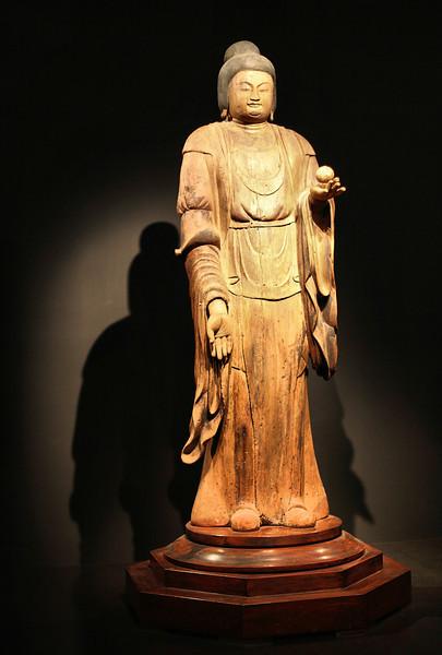 11th century statue, Tokyo National Museum, Ueno Park.
