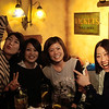 "Meeting the locals in the ""British Pub"", Kabukicho"
