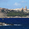 View across to Gozo