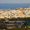 View of Mosta, from Mdina