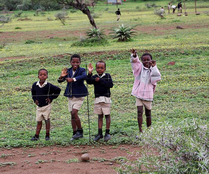 Swazi children