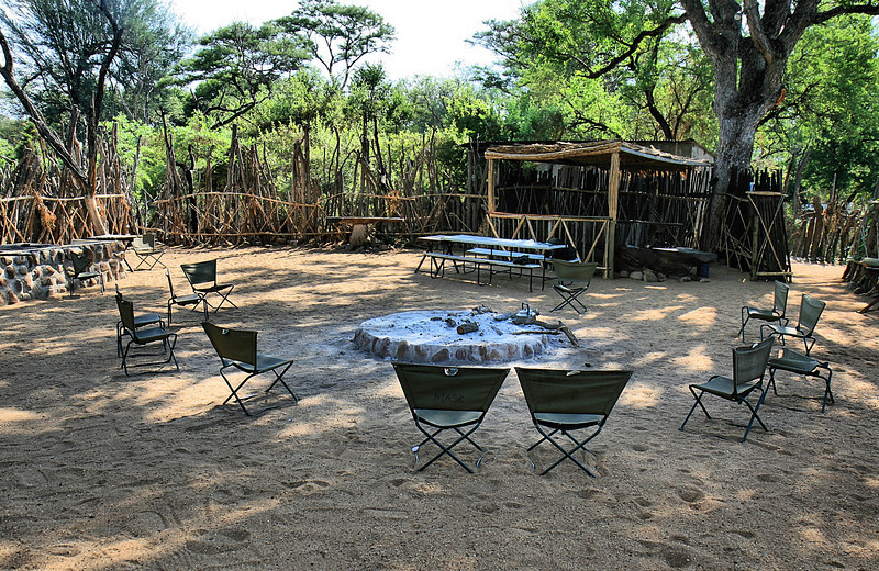Camp dining room,Private game reserve